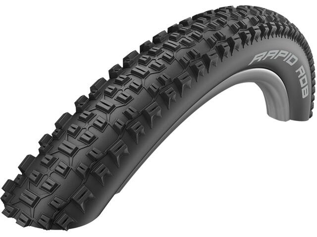 """SCHWALBE Rapid Rob Active Cubierta Carretera Alambre KevlarGuard SBC 27.5x2.10"""", black"""